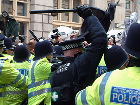 Police tactics over G20 have been widely criticised
