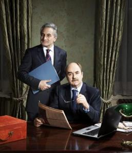Yes, Prime Minister at Chichester Festival Theatre review Jim Hacker David Haig Sir Humphrey Appleby Henry Goodman