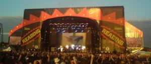 Biffy Clyro on the Main Stage, Reading Festival 2010