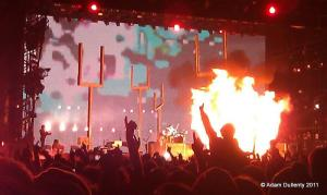 Muse at Reading Festival 2011