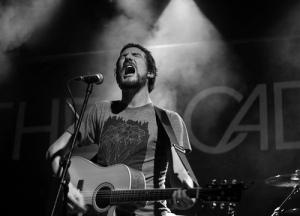 Frank Turner singing live