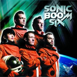Sonic Boom Six self titled album cover
