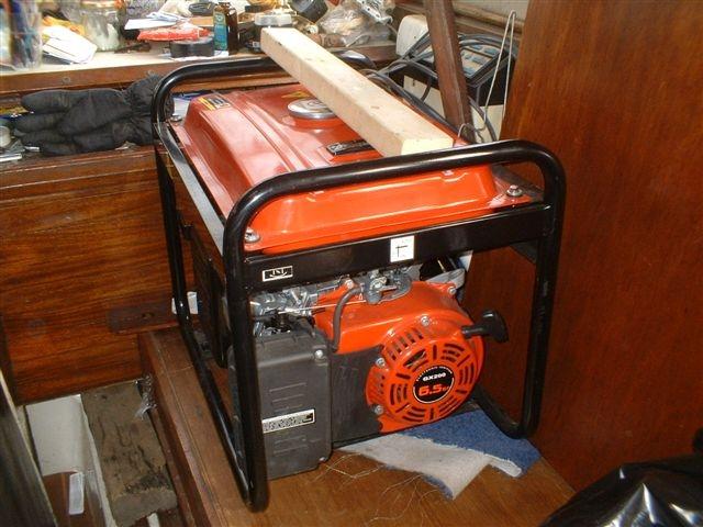 generator in cabin 04.2007